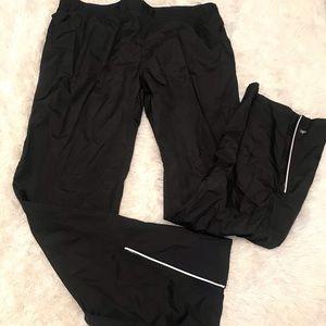 ALO Loose fit ankle zip athletic pants XL